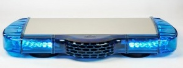 Mini blue vega lightbar mercura collapse aloadofball